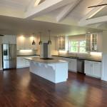 Open custom kitchen